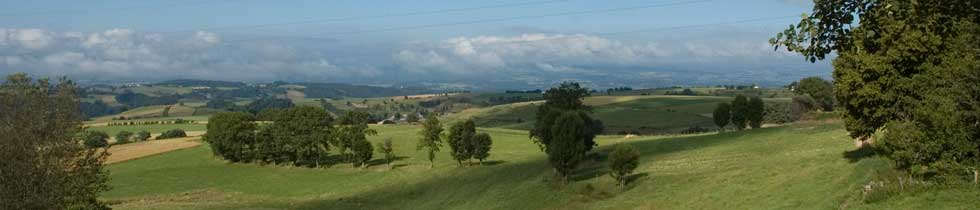Margeride cantalienne. Terroirs de moyenne montagne. Photo © J.-C ...