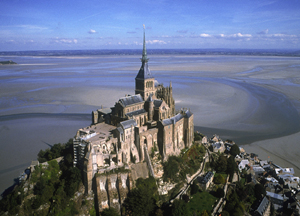 Abbaye du Mont-Saint-Michel. Photo : Marc Rapillard © CMN, Paris